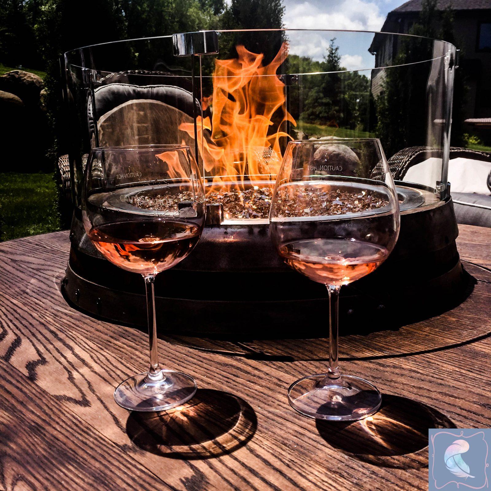 Propane Wine Barrel Fire Pit Lauftylife Com Wine