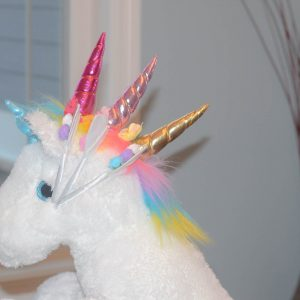 Swurly  Unicorn Headband- Cotton Candy