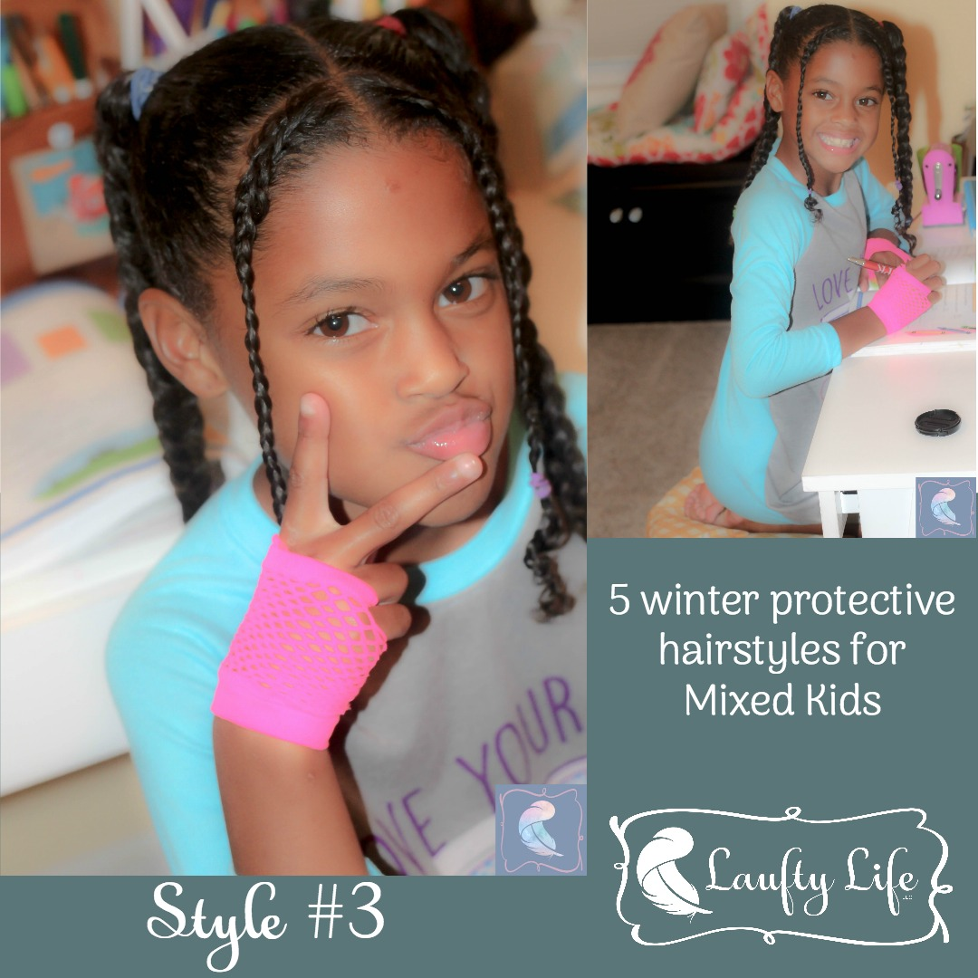 5 Winter Protective Hairstyles For Mixed Kids