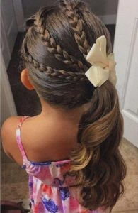 Girl Hairstyles inspiration from Pinterest