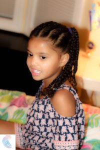 Natural braided Style for kids