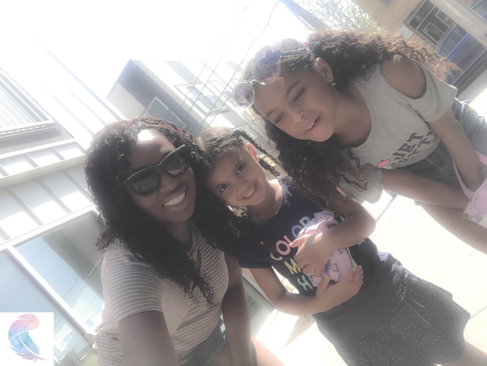 Black women raising mixed kids