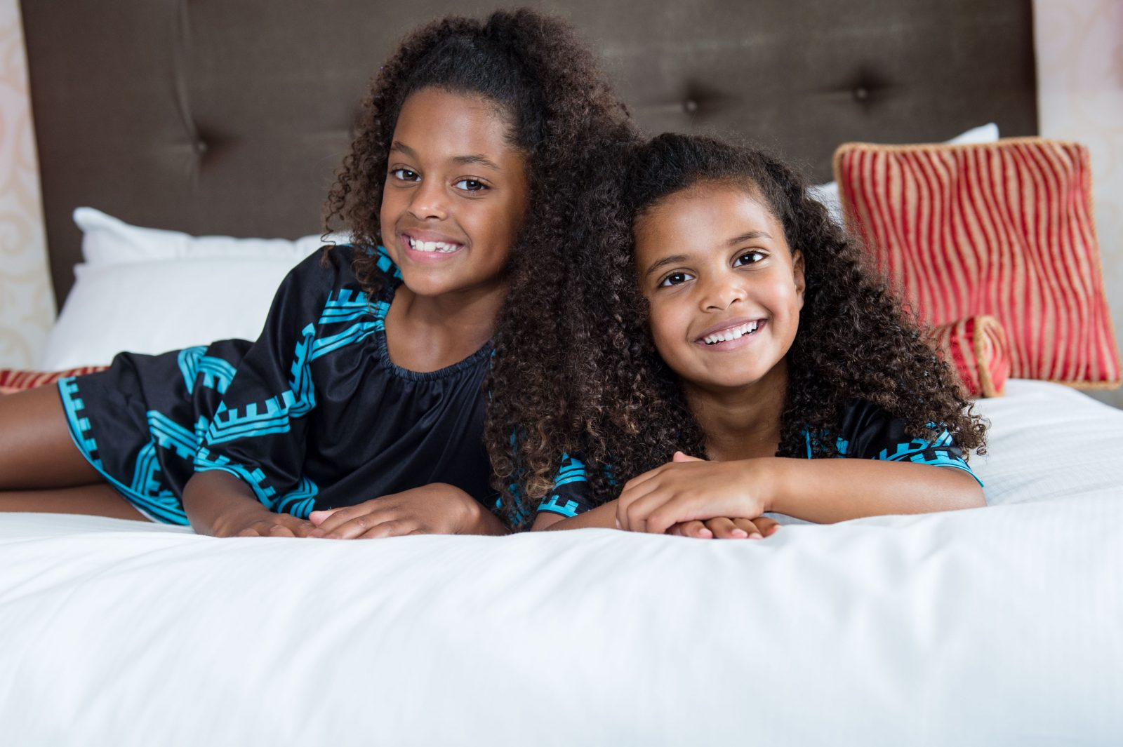 Maintaining kid's naturally curly hair