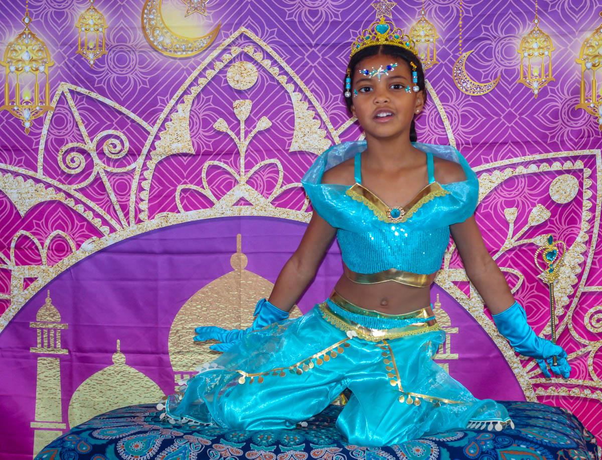 Princess Jasmine Theme Party