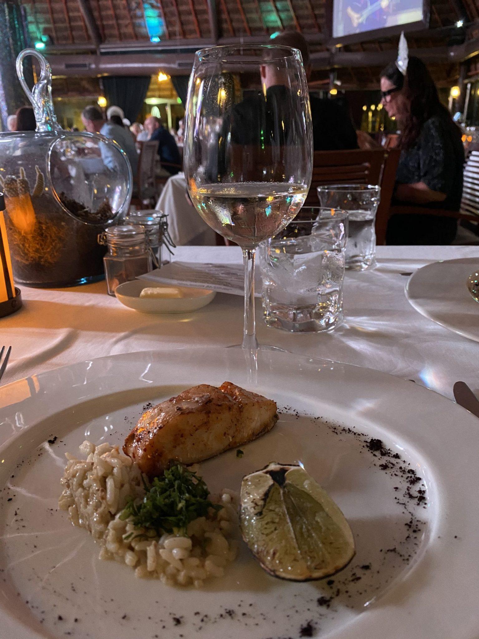 Food at El dorado Casitas