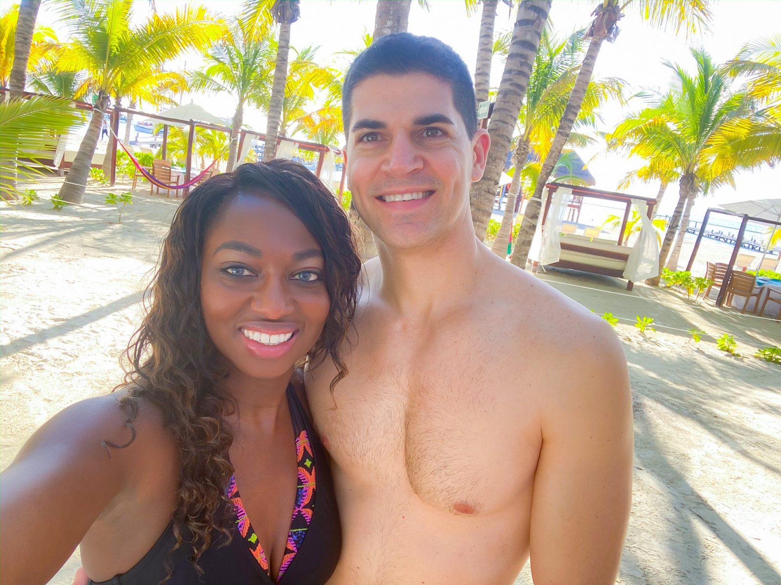 Snorkeling at El Dorado Maroma