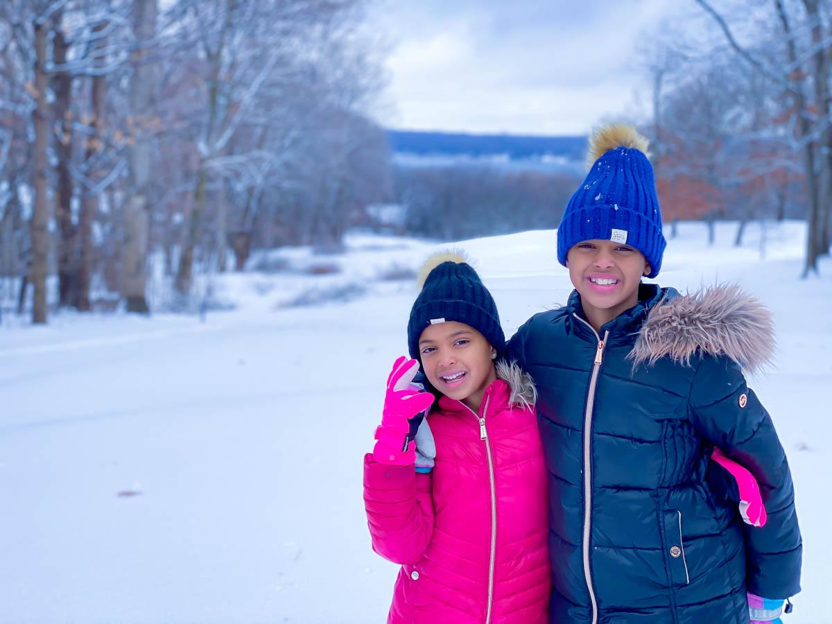 sledding in lake geneva